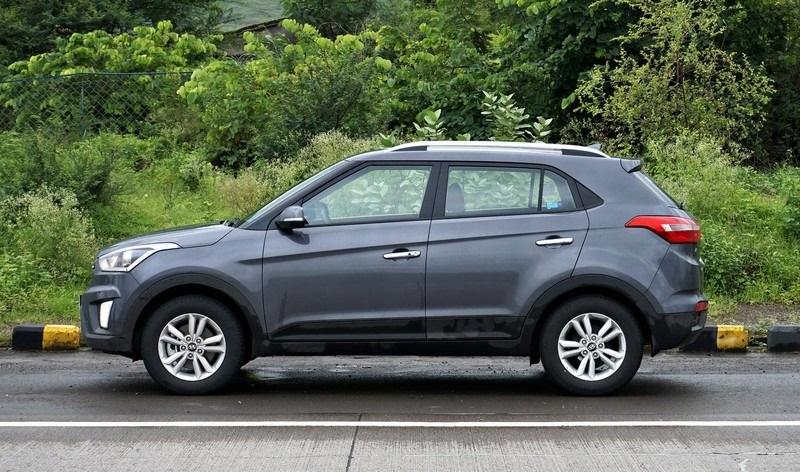 Боковое фото Hyundai Creta