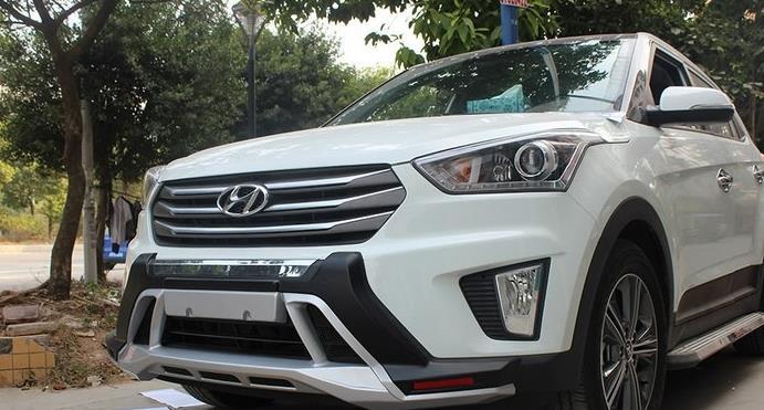 Переднее фото Hyundai Creta