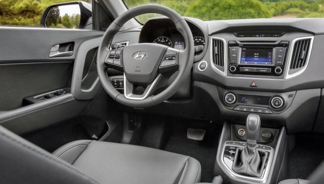 Интерьер Hyundai Creta
