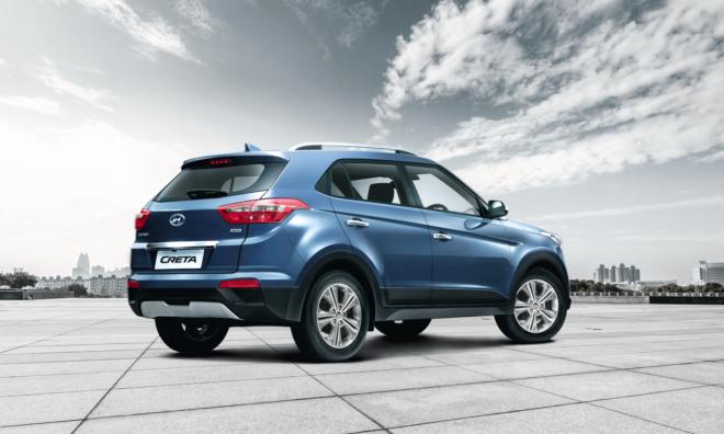 Hyundai Creta сбоку