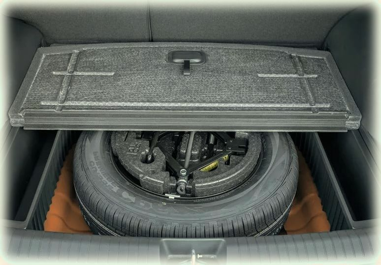 фото багажника крета