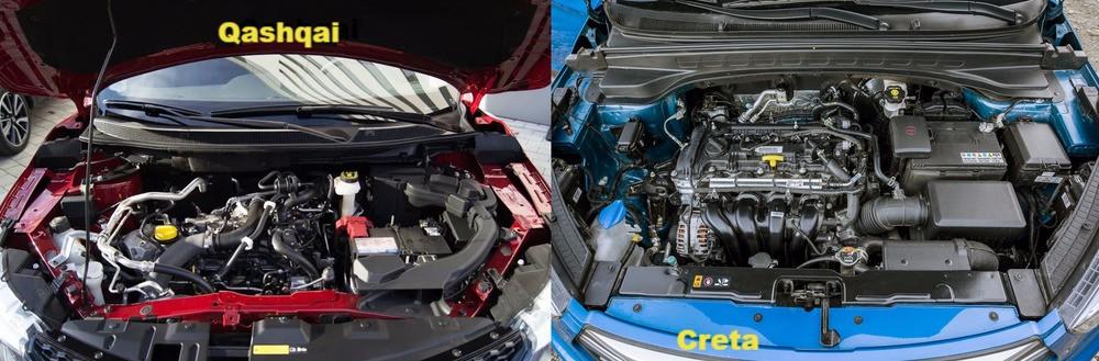Моторы автомобилей Кашкай и Крета