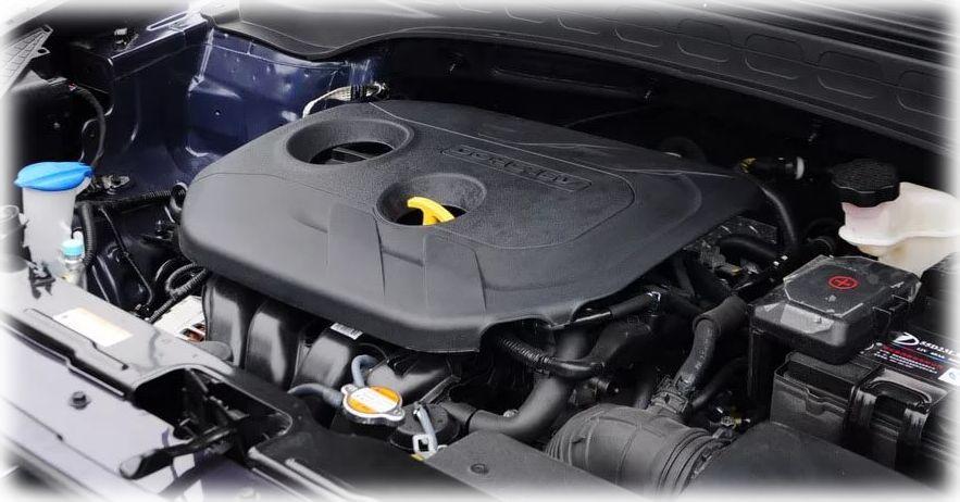 фото крышки на двигатель Хендай Крета