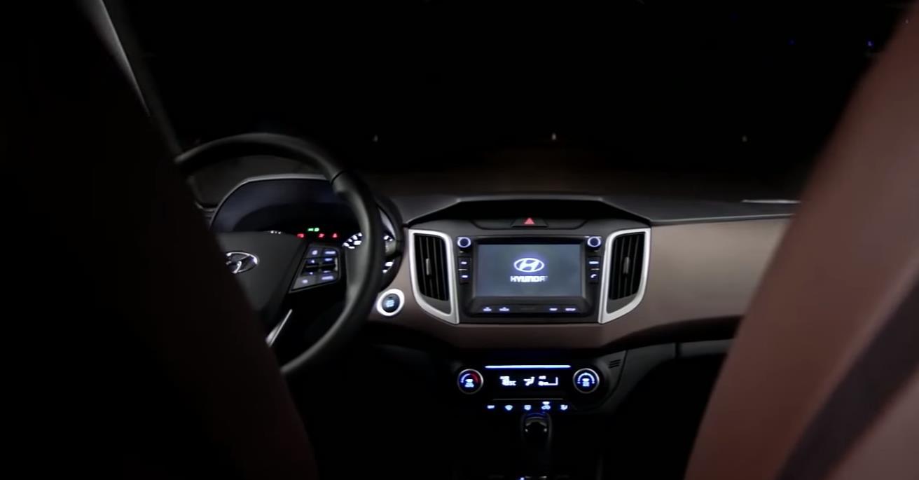 Салон автомобиля Hyundai Creta