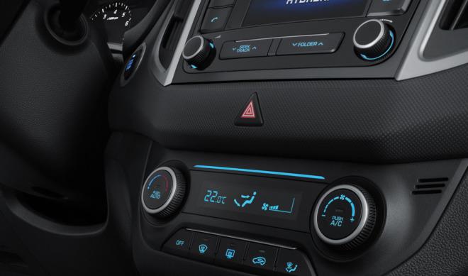 Внутри Hyundai Creta