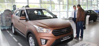 Hyundai Creta у дилера