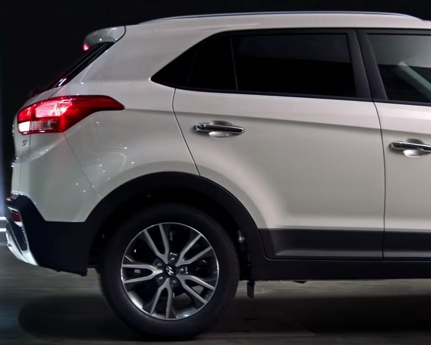 Задняя часть Hyundai Creta