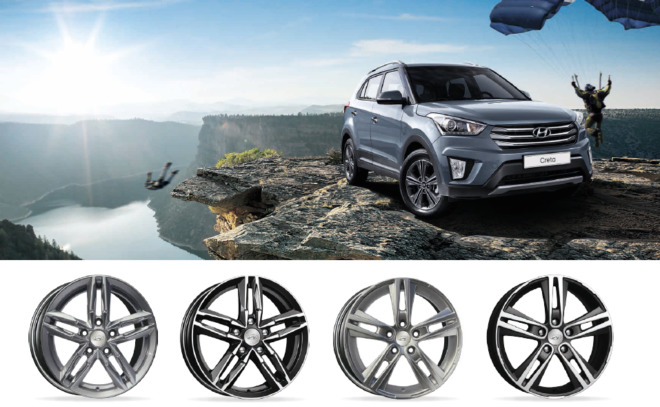 Диски для Hyundai Creta