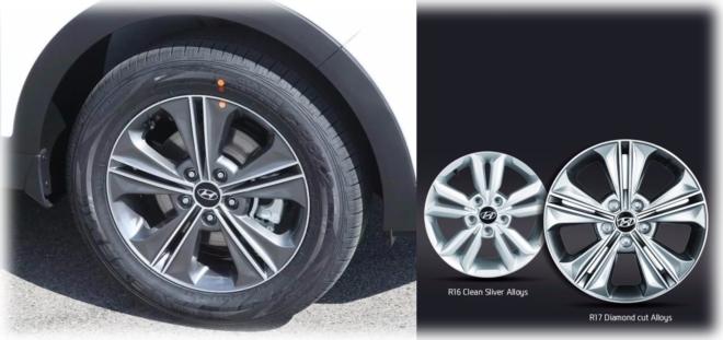 Диски и шины Hyundai Creta