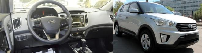 Hyundai Creta внутри и снаружи