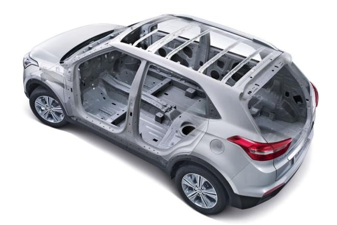 Кузов Hyundai Creta
