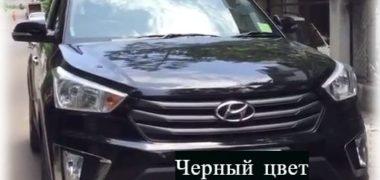 Hyundai Creta чёрного цвета