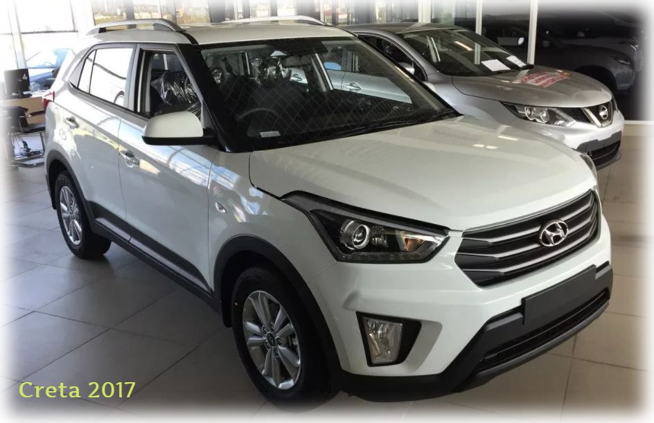 Экстерьер Hyundai Creta