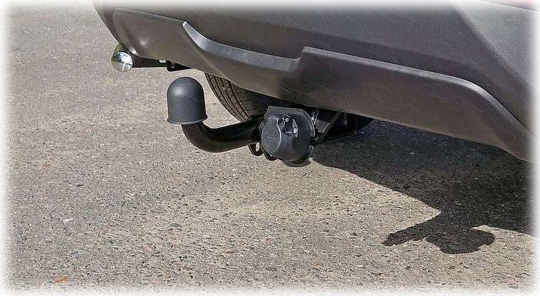 Фаркоп на автомобиле