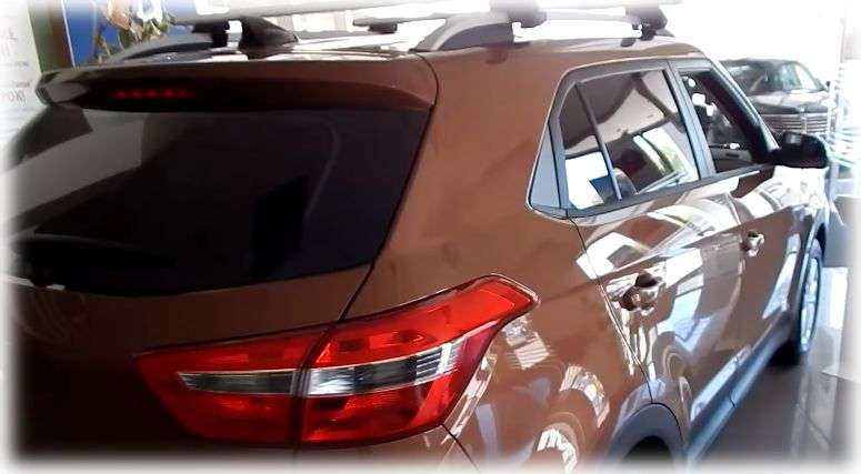 Заднее фото Hyundai Creta