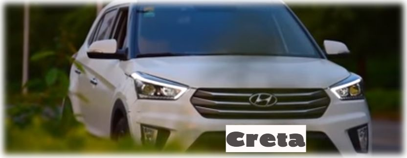 Линзованные фары на Hyundai Creta