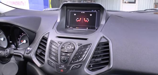 фото магнитолы в авто