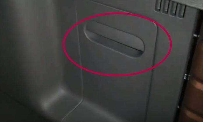 полка в багажнике дастер