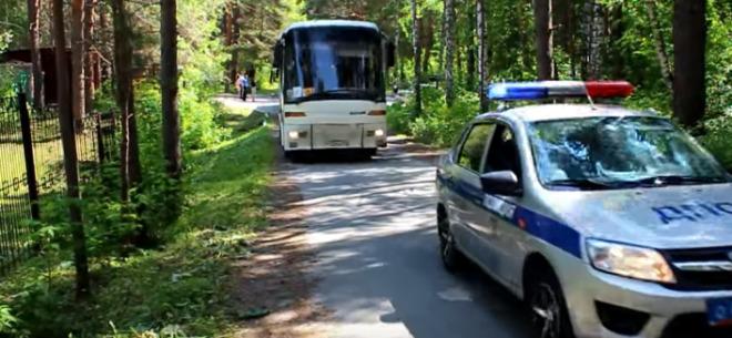 Сопровождение детских автобусов
