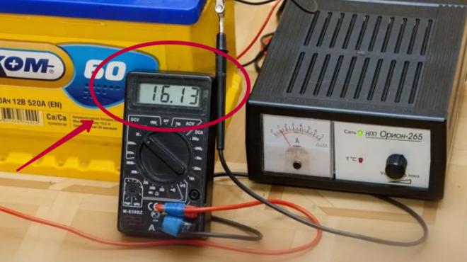 Зарядка аккумулятора на Хендай