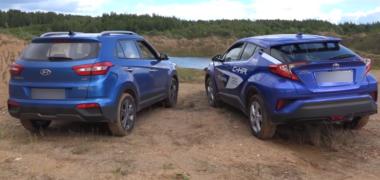 Toyota C-HR vs Hyundai Creta