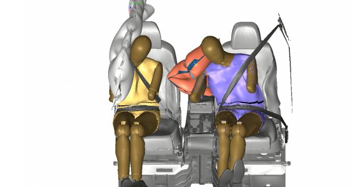Hyundai Motor Group разработала центральную подушку безопасности