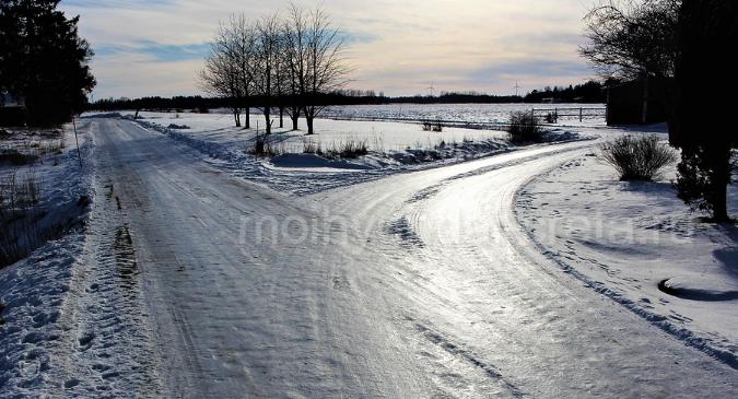 дорога во льду