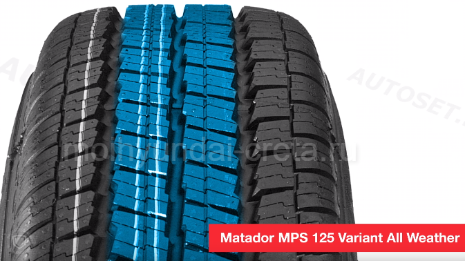 Зимняя резина на Хендай Крета. Matador MPS125 Variant All Weather