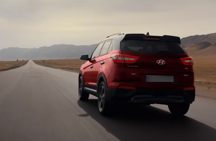 Hyundai Creta Би 2 новый спойлер