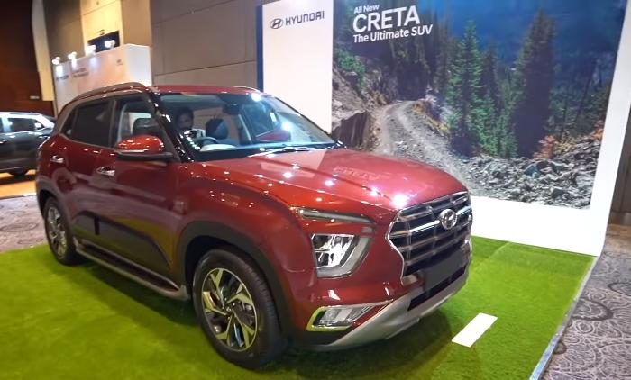 New Hyundai Creta Би 2 2020
