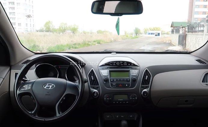 Hyundai Creta или Hyundai ix35. Салон икс 35