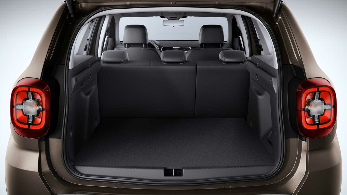 renault duster 2021. багажник
