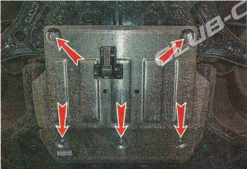 Защита двигателя Хендай Крета