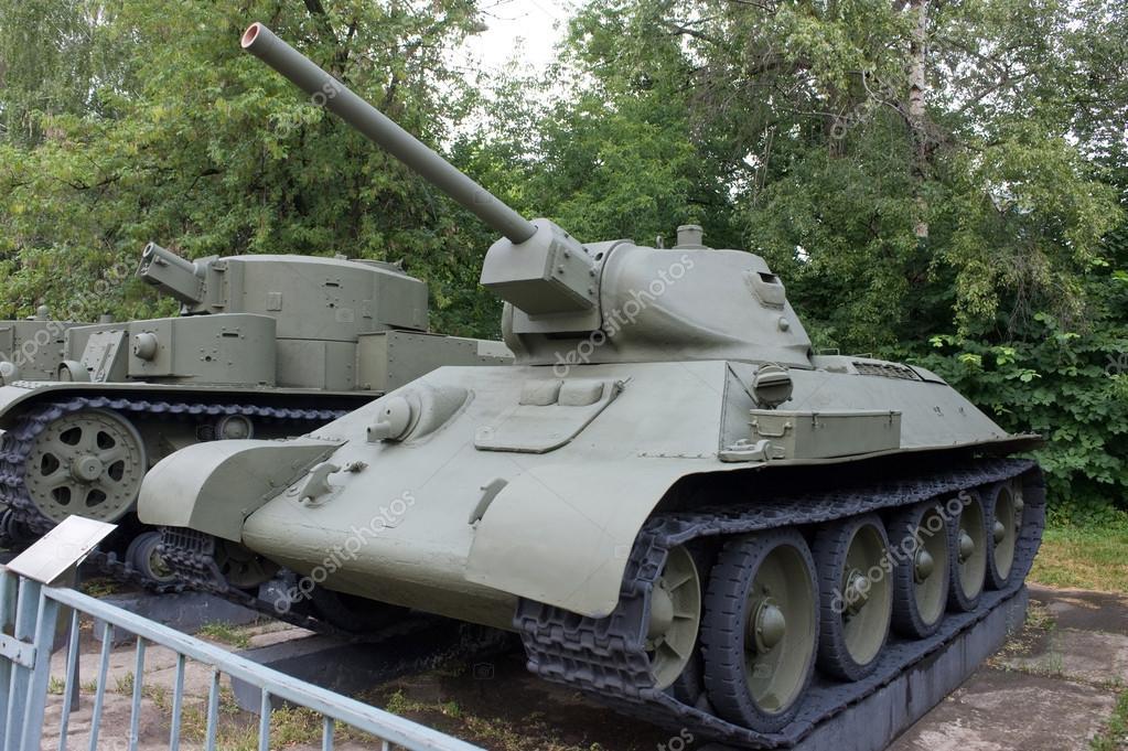 боевой танк т 34